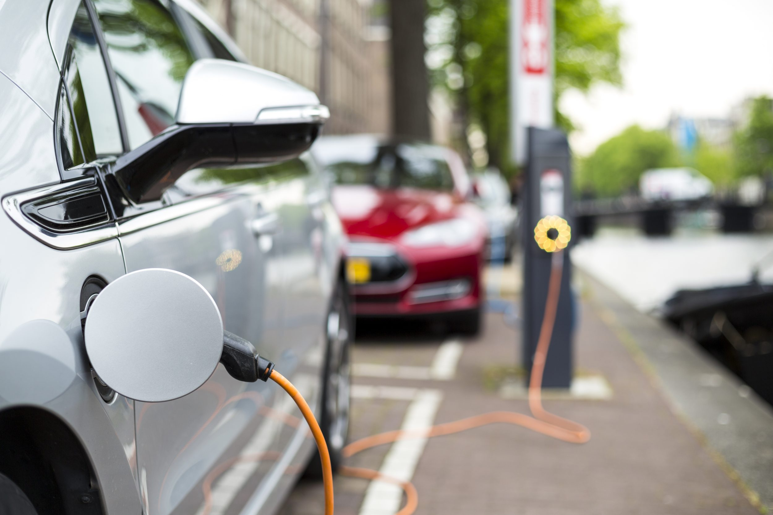 Charging,An,Electric,Car,-,Ecological,Way,Of,Driving